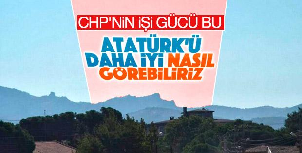 'Atatürk Kayalıkları' için seyir terası istediler