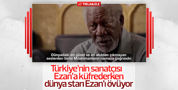 Morgan Freeman'dan ezan denemesi