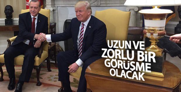 Erdoğan'la görüşen Trump'tan ilk açıklama