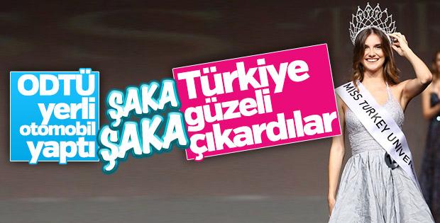 Türkiye güzeli Aslı Sümen oldu
