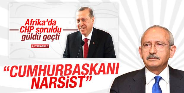 Kılıçdaroğlu'ndan Erdoğan'a: Narsist