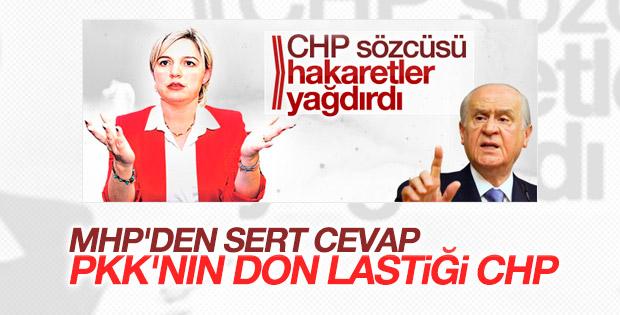 MHP'den CHP'li Selin Sayek Böke'ye sert cevap