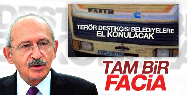 Kılıçdaroğlu'ndan açıklamalar: Belediyeye kayyum facia