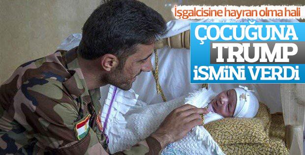 Yeni doğan bebeğine Trump'ın adını veren Kürt