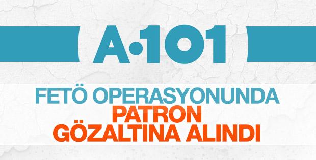 A101 marketler zincirine FETÖ operasyonu