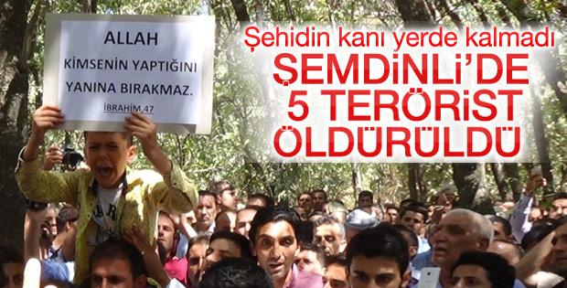 AK Partili siyasetçiyi öldüren teröristler öldürüldü