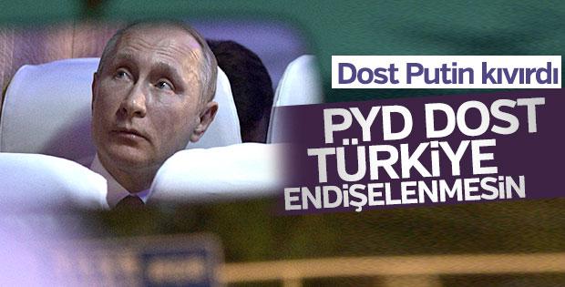Putin 'YPG'yle ilişkiye devam' dedi
