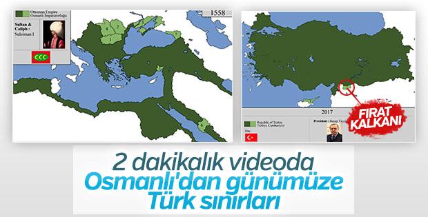 Osmanlı'dan Türkiye'ye sınırlarımız nasıl değişti