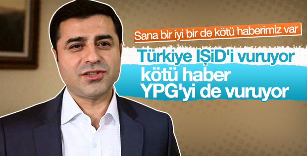 Türkiye, PYD ve IŞİD'i vurdu