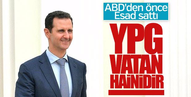 Esad YPG'ye hain dedi