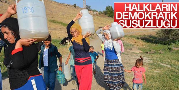 Diyarbakır'ın Yeşilvadi sakinleri 4 yıldır susuz yaşıyor