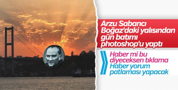 Arzu Sabancı'nın Atatürk paylaşımı