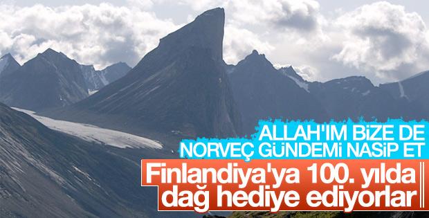 Norveç'ten Finlandiya'ya 100. yıl hediyesi: Dağ