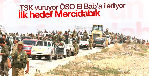 ÖSO birlikleri EL Bab yolunda IŞİD'i temizleyecek