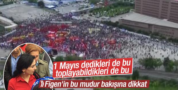 Bakırköy'deki 1 Mayıs kutlamaları sönük geçti