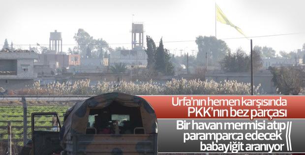 PKK/PYD'den Türkiye sınırında flamalı tahrik