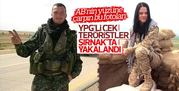 Şırnak'ta yakalanan Çek vatandaşı YPG'lilerin itirafları