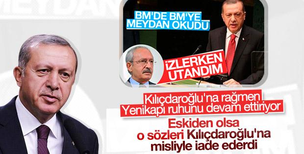 Erdoğan'dan Kılıçdaroğlu'nun 'utandım' sözlerine cevap