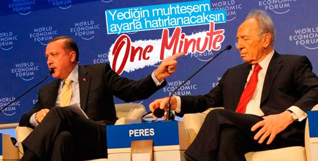 Şimon Peres'in Davos'ta yediği tarihi ayar