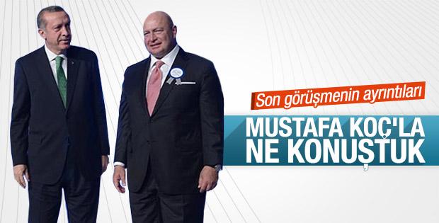 Erdoğan Mustafa Koç'la görüşmesini anlattı
