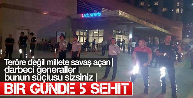 PKK iki ilde saldırdı: 5 şehit