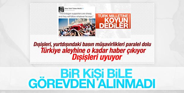 Bakan Çavuşoğlu: Benim bakanlığıma da sızmış bu hainler