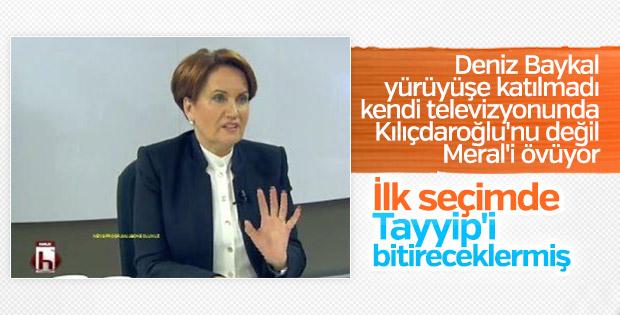 Meral Akşener'e parti desteği Halk TV'den geldi