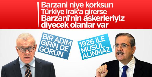 Hürriyet Barzani gibi konuştu