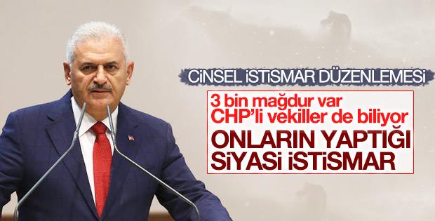 Başbakan: CHP'nin yaptığı siyasi istismar