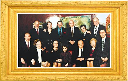 Koç Ailesinin 1991 Yılında çekilen Fotoğrafı