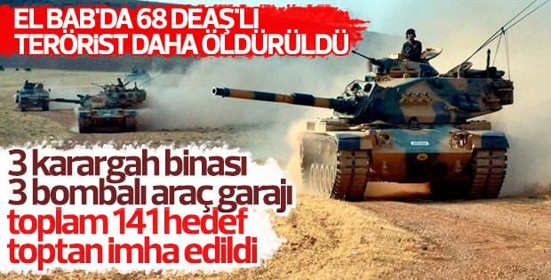 TSK: El Bab'da 68 DEAŞ'lı öldürüldü