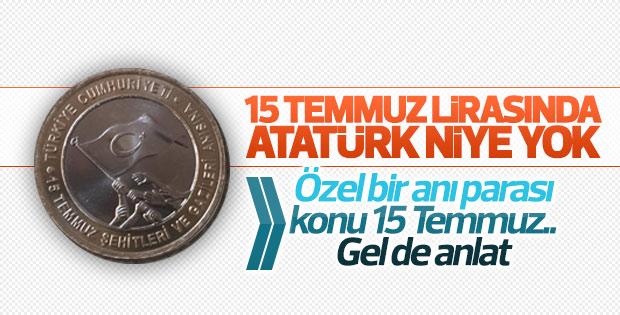 15 Temmuz Şehit ve Gazileri için hatıra para