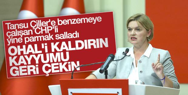 CHP'li Selin Sayek Böke'den kayyum tepkisi