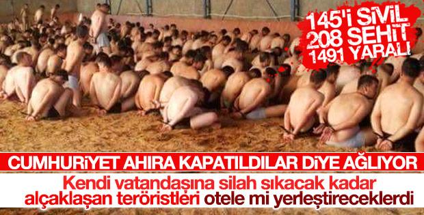 Cumhuriyet darbeci askerlere ağlıyor