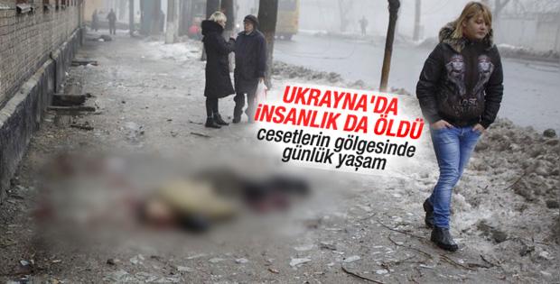 Ukrayna'da insanlık da öldü