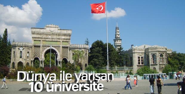 Türkiye'den 10 üniversite dünyada ilk bin arasında