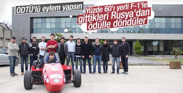 Uludağ Üniversitesi öğrencileri Rusya'dan ödülle döndü