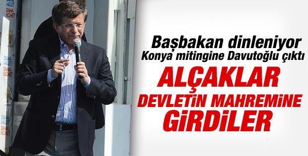 AK Parti'nin Konya mitinginde Ahmet Davutoğlu konuştu
