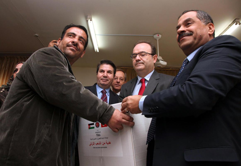 TİKA'dan Ürdün ve Filistinlilere dev yardım