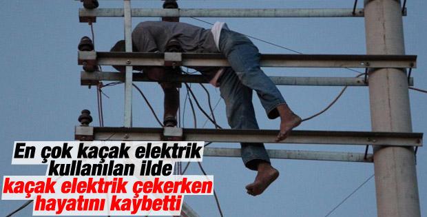 Şanlıurfa'da kaçak elektrik ölüm getirdi