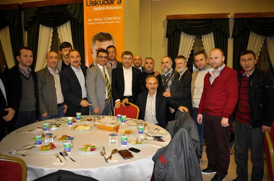 AK Parti Üsküdar için STK'larla projeleri değerlendirdi