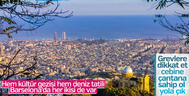 Kültür gezisiyle deniz tatili aynı anda: Barselona
