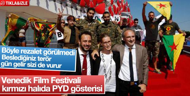 Venedik Film Festivali'nde PYD propagandası