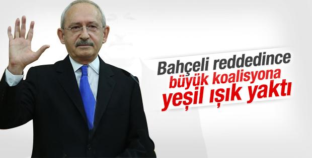Kılıçdaroğlu'ndan AK Parti koalisyonuna yeşil ışık