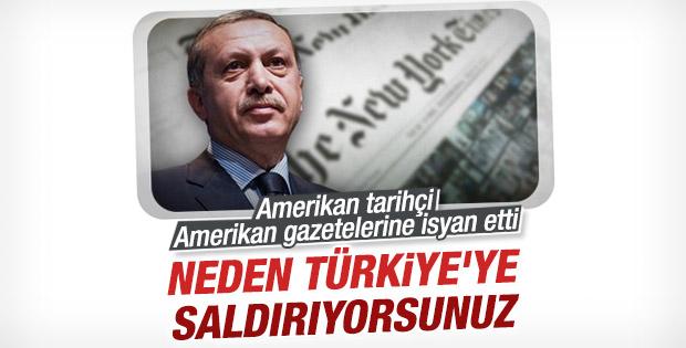 ABD'li tarihçi dış basındaki Türkiye imajına isyan etti