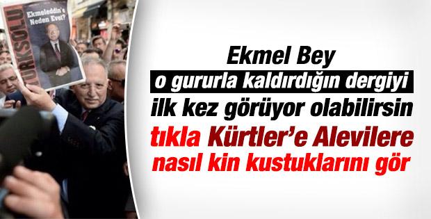 Ekmeleddin İhsanoğlu'nun Türk Solu gafleti