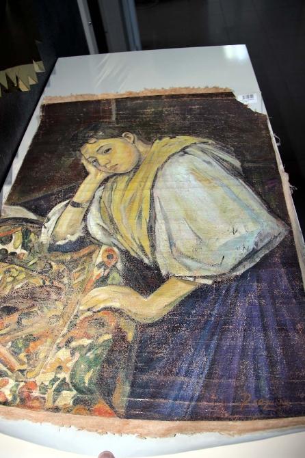 ünlü Ressamın Milyon Dolarlık Tablosu Yalovada Bulundu