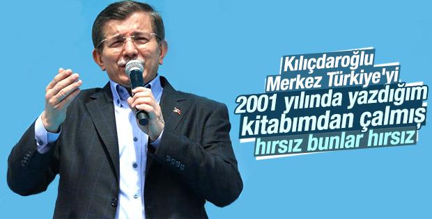 CHP'nin vizyon projesini Davutoğlu yıllar önce anlatmıştı
