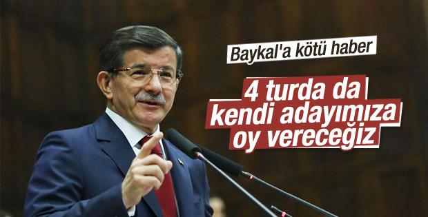 AK Parti 4 turda da kendi adayını destekleyecek