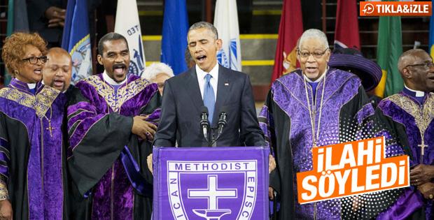 Obama'dan ilahi sürprizi